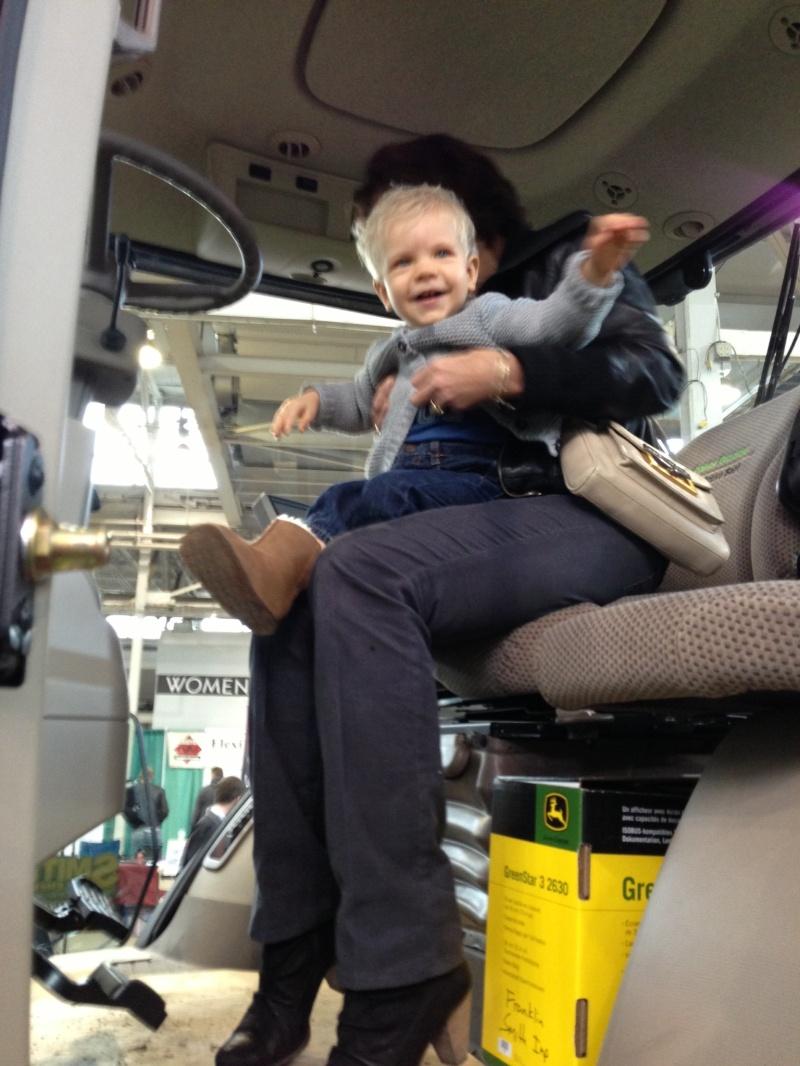 Vince in tractor heaven
